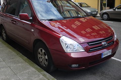 KIA (Jusotil_1943) Tags: cars coches redcars 130416