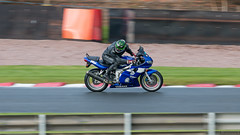 Check Your 6 (dmannock) Tags: wet bike sport speed track fast motorbike motorcycle vehicle autoracing lookingback motorsport trackday oultonpark headcheck checkingbehind