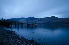 Bit of Blue. (Karl Watson) Tags: blue cold nikon jetty lakes lakedistrict sigma cumbria keswick 1750mm d7000