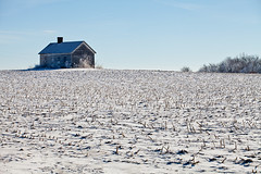 Little House (Zack Mensinger) Tags: winter minnesota eos midwest frost hoarfrost 2016 westernminnesota canon5dmarkii