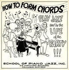 How To Form Chords (Jim Ed Blanchard) Tags: school columbus ohio strange vintage private weird store funny album cartoon vinyl piano jazz kitsch novelty jacket thrift cover ugly lp record awkward sleeve kooky pressing