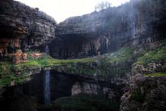 through and through. (jrseikaly) Tags: lebanon green nature water rock jack photography waterfall high dynamic rocky formation walkway gorge through range hdr tannourine seikaly baatara jrseikaly