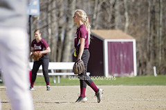 IMG_9217eFB (Kiwibrit - *Michelle*) Tags: school girls game sports team mms maine monmouth softball middle 2016 halldale 042816