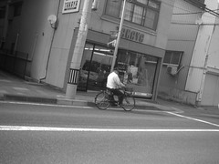 Today is colorless Saturday. (-ICHIRO) Tags: street camera toy snap agfa sensor 505d