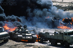 0000264209-002 (jr7een) Tags: history truck soldier fire war asia tank military smoke explosion middleeast nobody burning weapon arabia vehicle artillery kuwait liberation burned kuwaitcity militaryvehicle persiangulfwar militarypersonnel historicevent northamericanhistoricalevent unitedstateshistoricalevent motorvehicle persiangulfstates iraqkuwaitconflict southwestasia