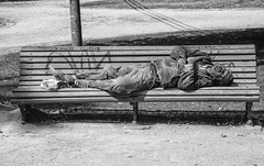 SLEEPING (gianmaria.colognese) Tags: street people beggar dormiente povero