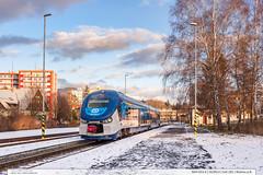 844.003-4 | Os3914 | tra 281 | Ronov pod Radhotm (jirka.zapalka) Tags: winter train czech cd os stanice roznovpodradhostem trat281 rada844