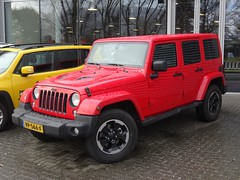 2015 Jeep Wrangler Van (harry_nl) Tags: netherlands rotterdam jeep nederland van wrangler 2016 wcar grijskenteken sidecode9 vp566f