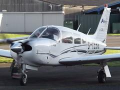 G-TEBZ Piper Arrow 28R (Aircaft @ Gloucestershire Airport By James) Tags: james airport gloucestershire arrow piper lloyds 28r egbj gtebz