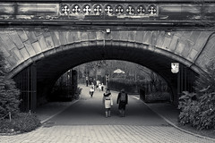 Central Park - Denesmouth Arch (frankiefotocpa) Tags: park nyc newyorkcity urban blackandwhite bw newyork photography nikon arch centralpark bwphotography digitalphotography blackandwhitephotography urbanphotography centralparknyc architecturephotography nikonphotography newyorkphotography nycphotography newyorkcityphotography affinityphoto