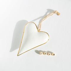 Love (SueBarni) Tags: white love gold heart letters string alphabet