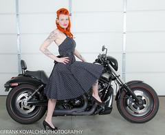 Motorcycle Mama (Alaskan Dude) Tags: fashion portraits model women photoshoot modeling models danielle pinup photoshoots
