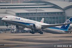 Fukuoka Airport 2016.1.17 (17) JA833A / ANA's B787-9 (double-h) Tags: airplane ana   fuk b787 fukuokaairport  dreamliner  rjff b7879 eos7dmarkii ja833a ef100400mmf4556lisiiusm accinfukuoka