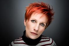 Giulia (orma_marco) Tags: red portrait woman girl fashion female ritratto retouching lampista strobist removedfromstrobistpool incompletestrobistinfo seerule2
