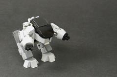 Bad Cop, Bad Cop! (Grantmasters) Tags: lego detroit robocop ed209 ocp moc