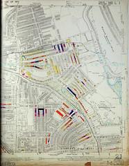 London County Council Bomb Damage Map 1939-1945 - Stamford Hill and South Tottenham(right) (Alan Denney) Tags: london war ww2 hackney bombs blitz v1 bombing v2 secondworldwar stamfordhill wardamage bombdamage