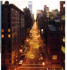 Lexington Avenue View from Bridge (Hunter College Archives) Tags: bridge view 1988 yearbook hunter lexingtonave huntercollege wistarion thewistarion