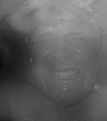 The Worst Self-Portrait I Have Taken in a Long Time (ricko) Tags: bw selfportrait wet shower shampoo 2016 washinghair 38366