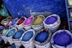 Colors of Chefchaouen [Explore 26/01/2016] (clmenceLiu ) Tags: city blue color northafrica morocco maroc chefchaouen oldtown berbers sonyrx1r clemenceliu