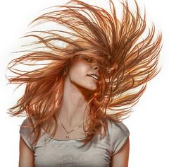P2150381 (mblsha) Tags: girl hair redrose strobism mzuikodigitaled1240mmf28pro mtcandidate maryannacher