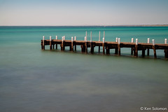 Jetty At Frankston Beach. (kensol72) Tags: longexposure beach water fuji australia melbourne victoria fujifilm 1855mm fujinon frankston xf xseries xe2