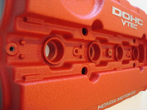 B-Series Red Valve Cover