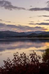 Ullswater 2015 - 6394.jpg (DavidRBadger) Tags: autumn sky lake mountains reflection nature clouds rural landscape evening countryside dusk lakedistrict calm lakeside hills cumbria vista lowsun ullswater pooleybridge