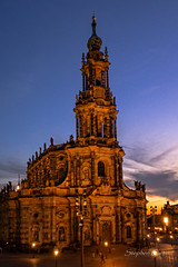 Hofkirche Dresden (stephencurtin) Tags: germany dresden hofkirche
