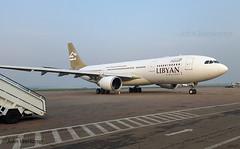 JV-2016-01-25-004 (johnveerkamp) Tags: plane airbus uganda airlines libyan a330202 5alar