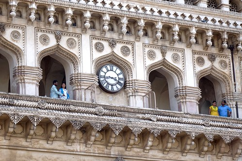 Clock at Charminar (Hyderabad,India)