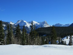 Weminuche winter (jimsawthat) Tags: winter snow mountains rural colorado accident silverton sanjuanmountains milliondollarhighway grenadierrange