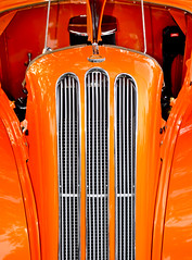 Ford Anglia Classic (Carolyn Marshall Photography) Tags: auto orange classic ford car automobile colorful bright carshow streetrod anglia britishcar fordanglia customcarshow carolynmarshall livinglifephotography livinglifephoto carolynmarshallphotography