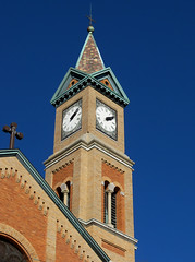 OH Cincinnati - St Francis Seraph Church (scottamus) Tags: ohio church architecture cincinnati steeple spire hamiltoncounty stfrancisseraphchurch