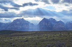 Red Rock Canyon (Logan McWilliams) Tags: las vegas red sun mountains rock nevada canyon rays