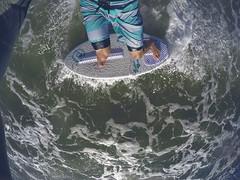 G0246566 (JasonTuno) Tags: camera boy sunset black love beach water waves florida action cam 4 surfing hero session skimboarding selfie skimboard gopro surd