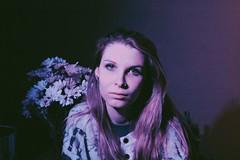 self (subsidium) Tags: flowers selfportrait fluorescent selfphoto