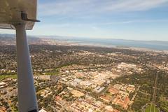 Solo practice (theadvantej) Tags: sf sanfrancisco california cali canon landscape photography flying planes bayarea beaches halfmoonbay 6d cessna172 advantej