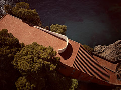 Casa Malaparte, Adalberto Libera. 1963 (POET ARCHITECTURE) Tags: italy house nature beautiful architecture capri casa poetry poet libera adalberto malaparte