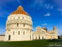 Pisa (part of me) (sele1108) Tags: city bluesky pisa cielo tuscany toscana leaningtower torrependente piazzadeimiracoli