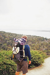 nInjApAn (FrederickMcdonald) Tags: portrait colour film 35mm kodak hike bushwalking tasmania olympusom1