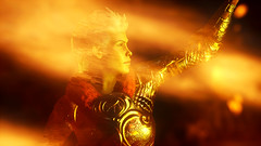 fire spell (diagk) Tags: mage inquisition deena inquisitor trevelyan spellcasting dragonageinquisition