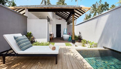 Beach Garden Pool Villa