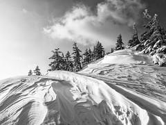 IMG_3887-Edit20160228 (Zac Li Kao) Tags: winter bw mountain snow japan canon hiking cybershot hike climbing mountaineering gunma hotaka g1x