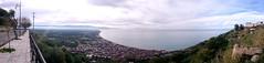9 Gennaio 2016 (andrealamalfa) Tags: sea italy panorama cloud sun fog montagne italia nuvole mare blu sony sicily sole nebbia etna z3 calabria 180 sicilia nicotera xperia