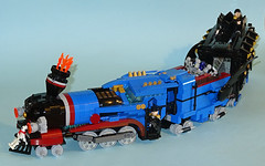 Twisted Time Train (Librarian-Bot) Tags: train lego time cruisers twisters moc revamp