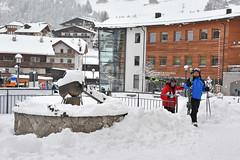 Piazza Nives - Platz (Val Gardena - Grden Marketing) Tags: schnee grden selva sdtirol altoadige valgardena dolomitisuperski wolkenstein langkofel sellaronda neuschnee sassolungo trentinoaltoadige