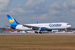 D-ABUD  Condor (karl.goessmann) Tags: boeing condor muc b767 dabud b767330erw