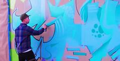 Bud Work 1 (Wolfram Burner) Tags: county street art oregon graffiti mural paint artist tag can spray eugene lane painter spraypaint burner rattle uoregon tagger wolfram rattlecan eugne rattlepaint rattlecanspecialist rattlespray