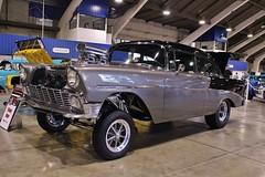 3rd Annual Street Machine & Muscle Car Nationals (USautos98) Tags: chevrolet chevy hotrod 1956 custom streetrod gasser 210