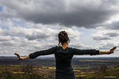 86#365 In Maremma (Fabio75Photo) Tags: sky panorama woman landscape nuvole retro cielo infinito calma colline schiena maremma donnaa